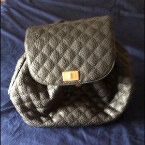 Black backpack